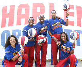 Listen to win tickets to the Globetrotters from 106.5 WJDT!