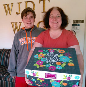 Congrats to Michelle Evans, winner of the Valentine's Prize Pack from 106.5 WJDT!